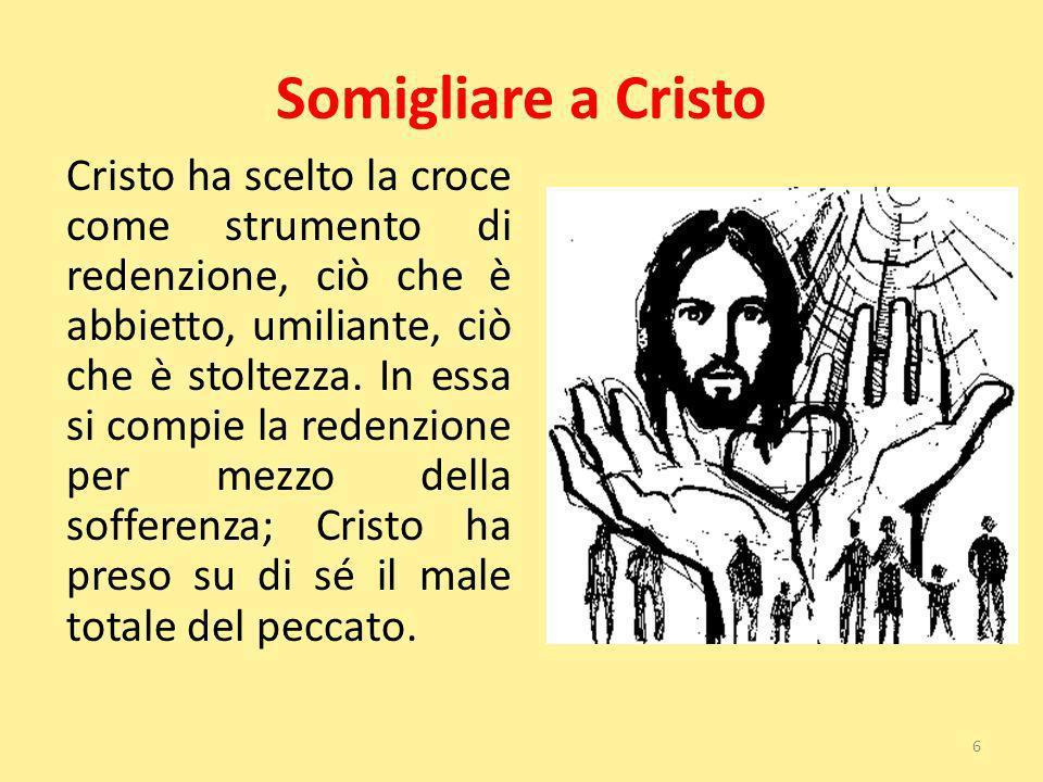 Somigliare a Cristo