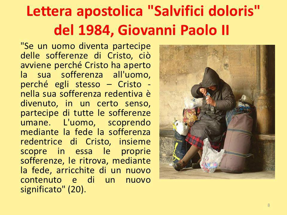 Lettera apostolica Salvifici doloris del 1984, Giovanni Paolo II