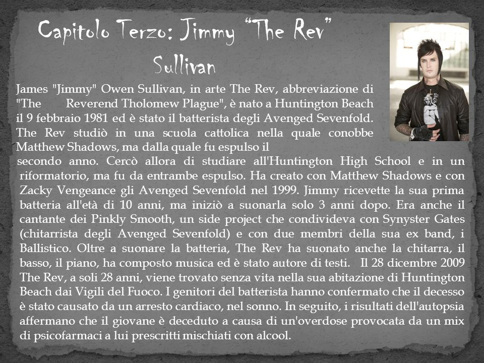 Capitolo Terzo: Jimmy The Rev Sullivan