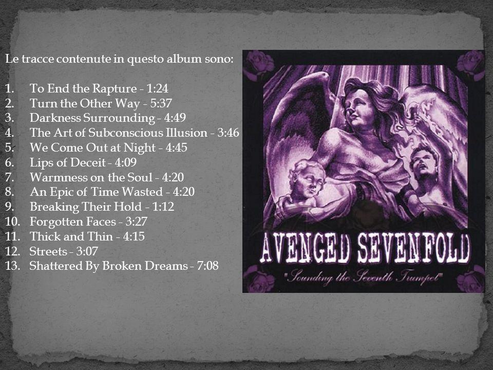 Le tracce contenute in questo album sono: