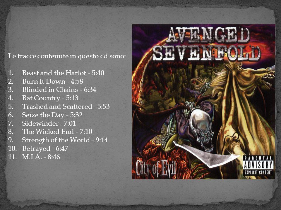 Le tracce contenute in questo cd sono: