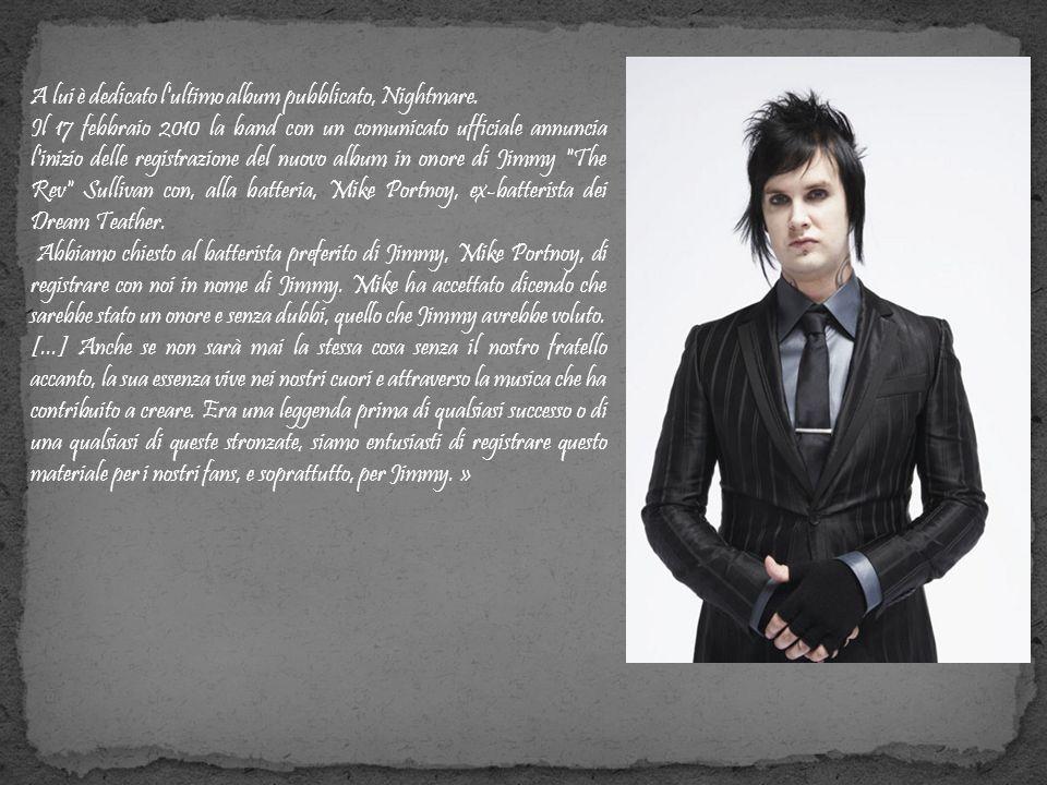 A lui è dedicato l ultimo album pubblicato, Nightmare.