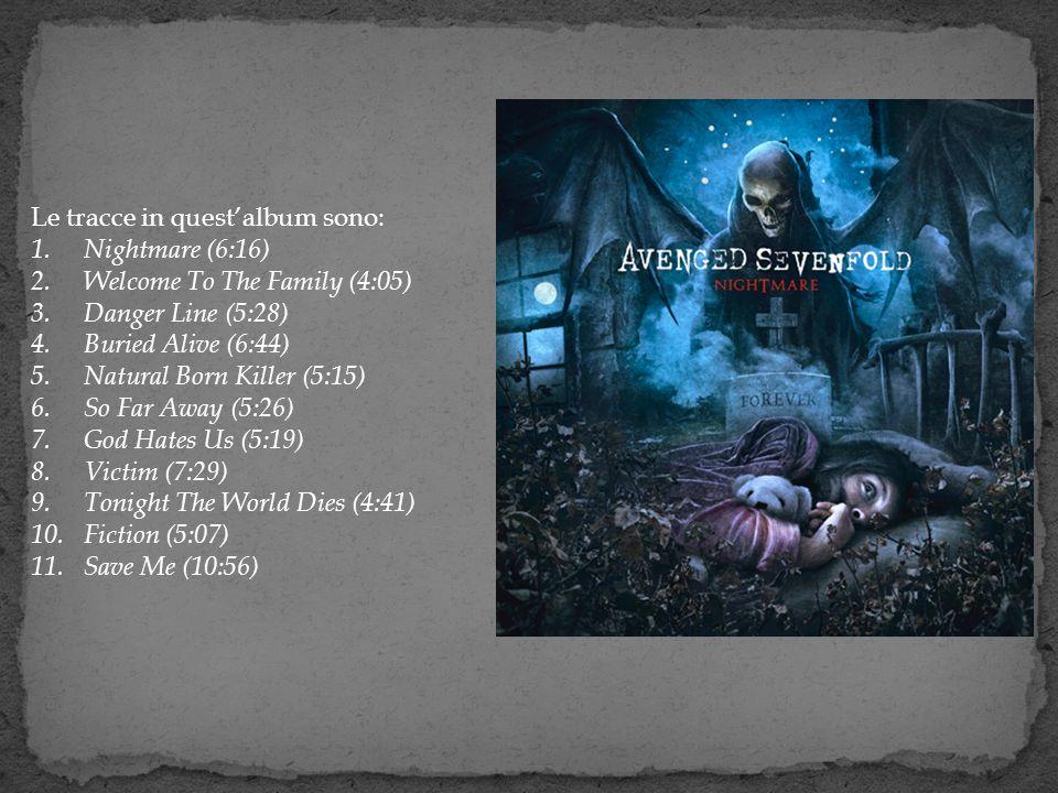 Le tracce in quest'album sono: