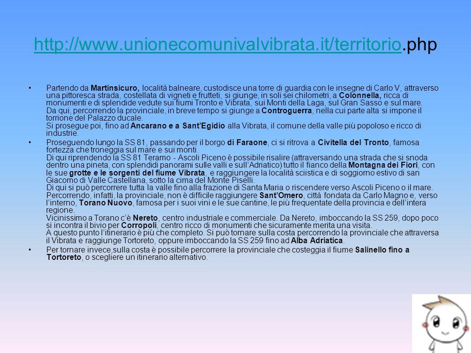 http://www.unionecomunivalvibrata.it/territorio.php