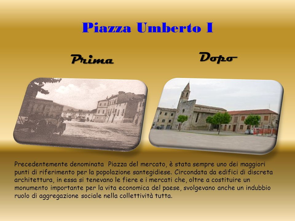 Piazza Umberto I Dopo Prima
