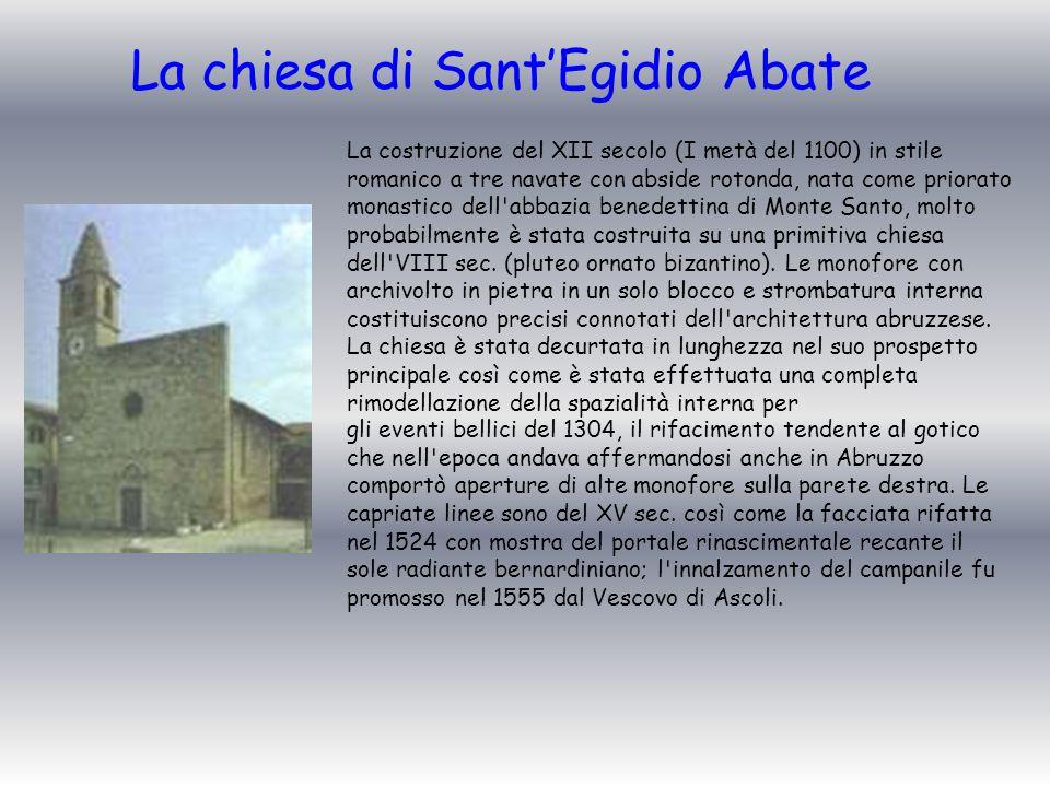 La chiesa di Sant'Egidio Abate