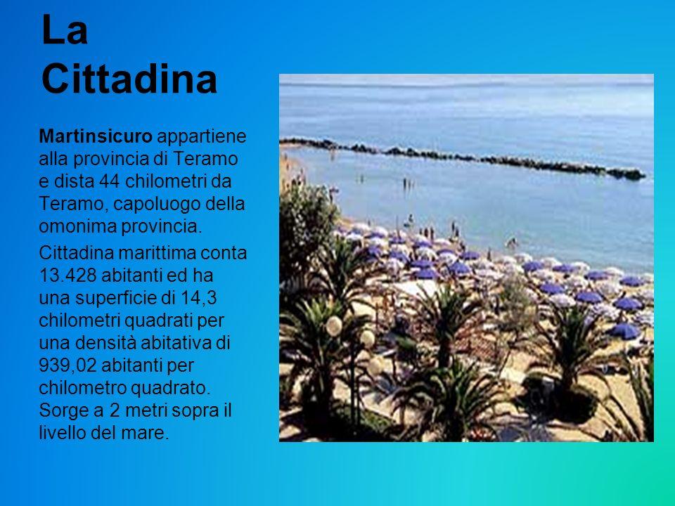 La Cittadina Martinsicuro appartiene alla provincia di Teramo e dista 44 chilometri da Teramo, capoluogo della omonima provincia.