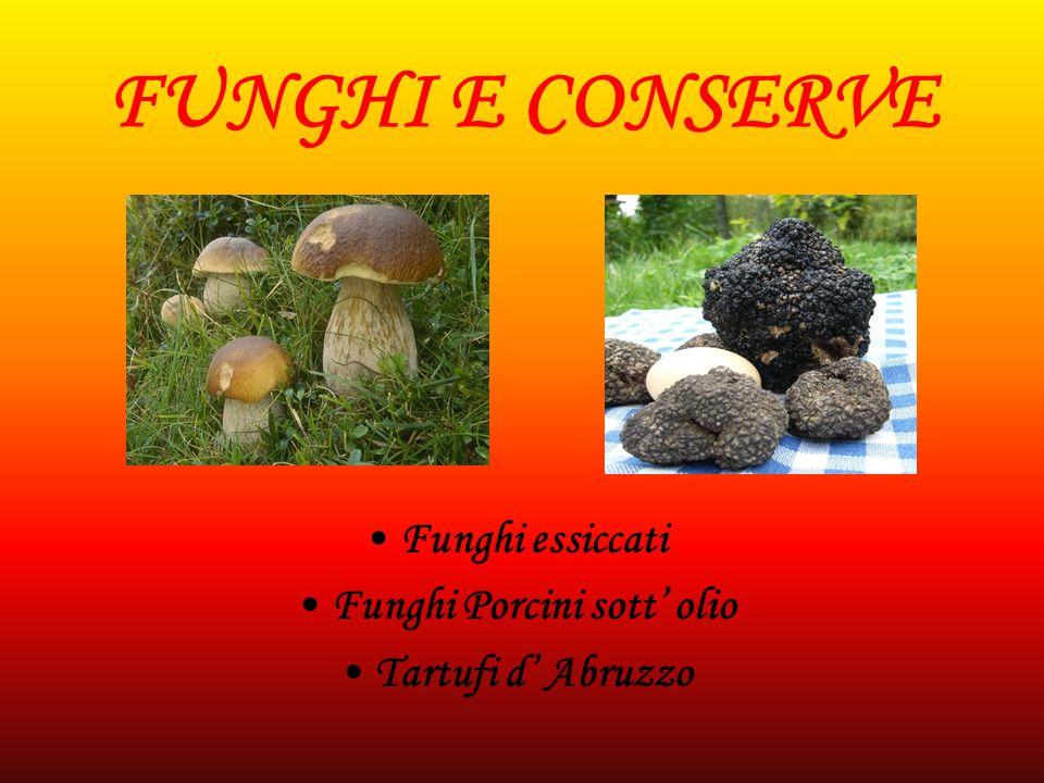 Funghi Porcini sott' olio