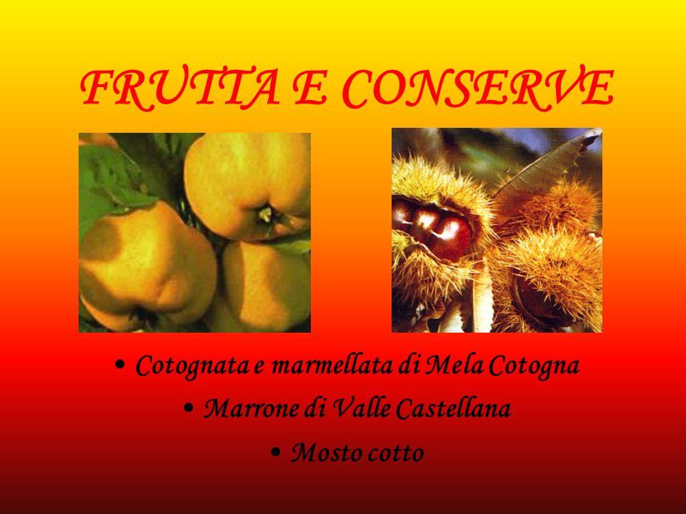 Cotognata e marmellata di Mela Cotogna Marrone di Valle Castellana