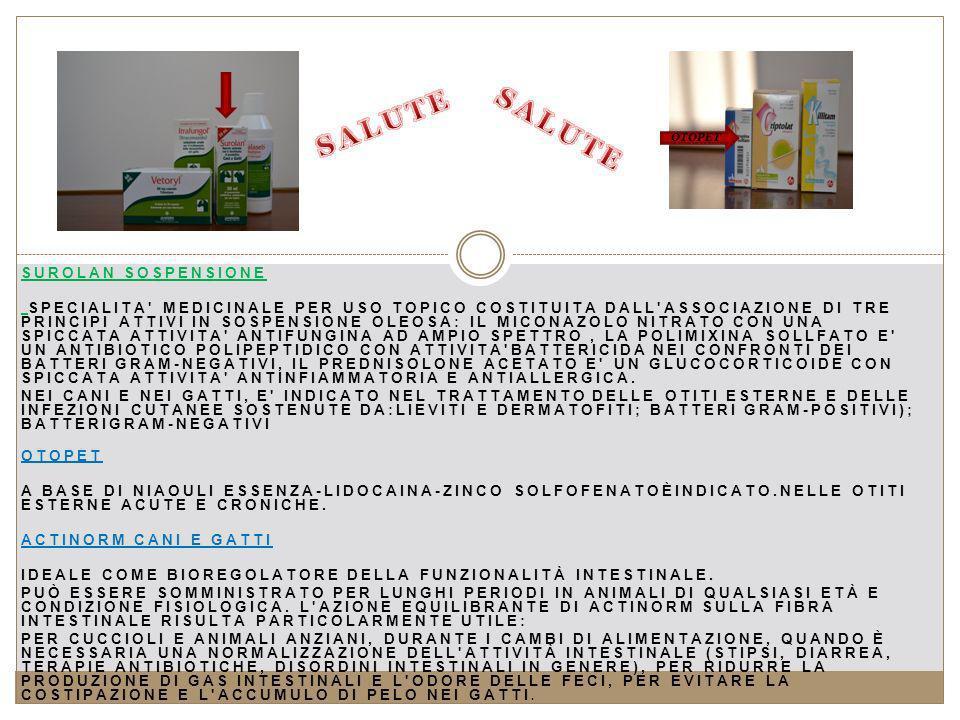 SALUTE SALUTE Surolan SOSPENSIONE