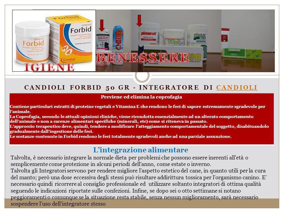 Candioli Forbid 50 gr - Integratore di Candioli
