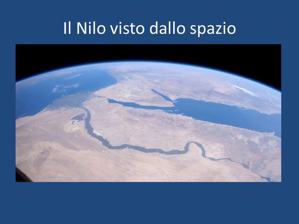 Il Nilo visto dallo spazio