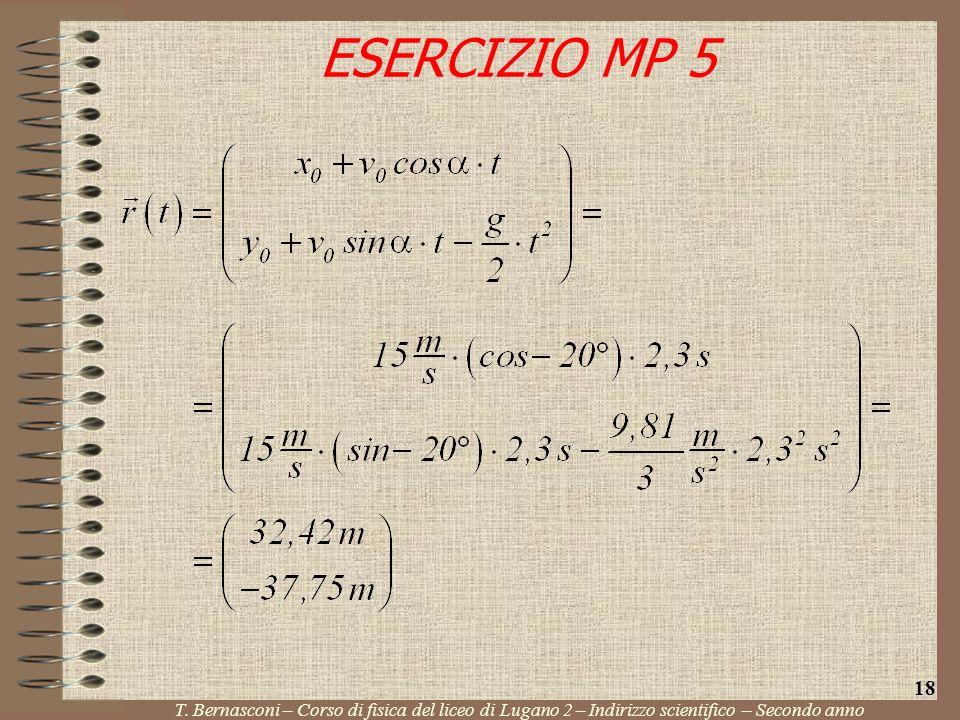 ESERCIZIO MP 5 18. T.