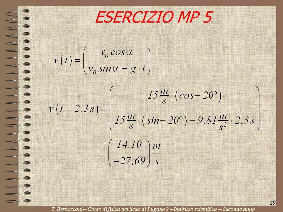 ESERCIZIO MP 5 19. T.