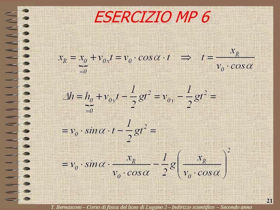 ESERCIZIO MP 6 21. T.