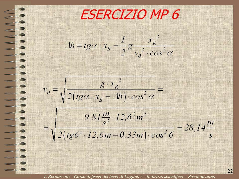 ESERCIZIO MP 6 22. T.