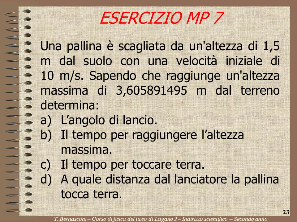 ESERCIZIO MP 7