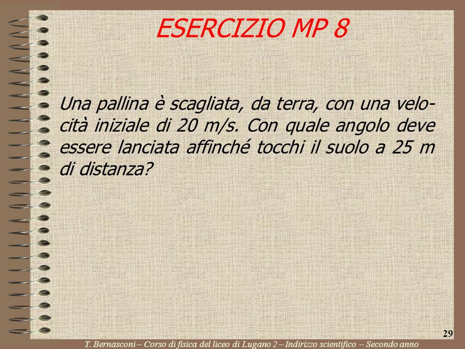 ESERCIZIO MP 8