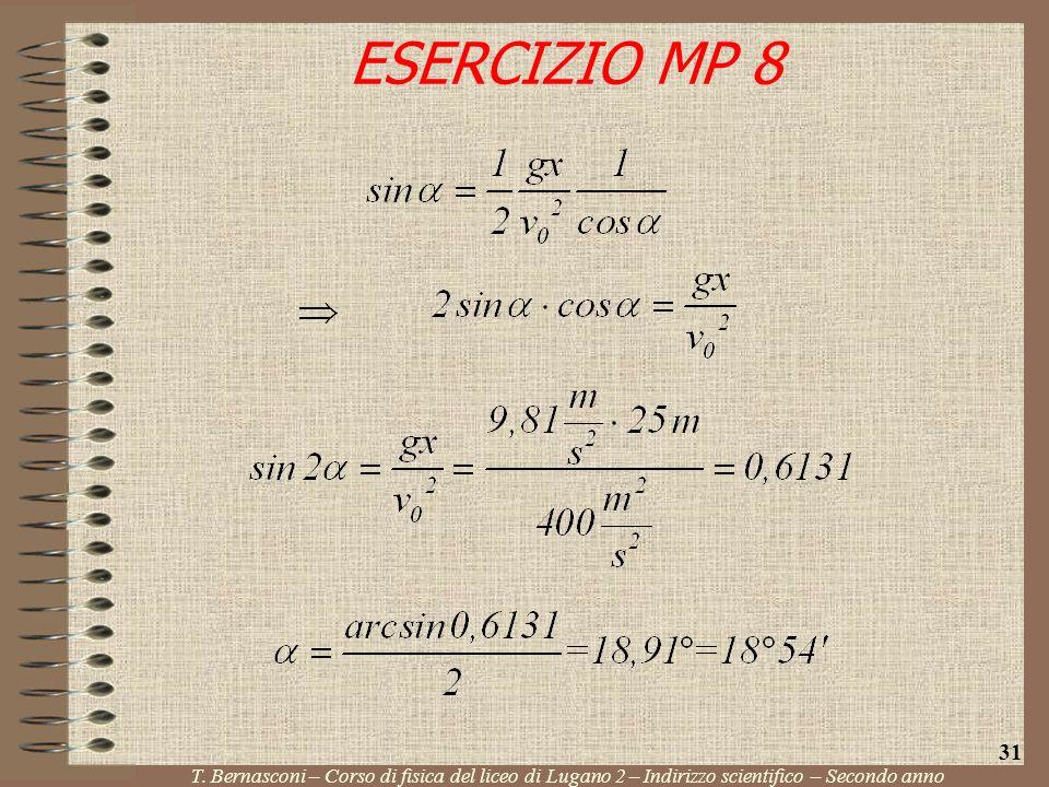 ESERCIZIO MP 8 31. T.