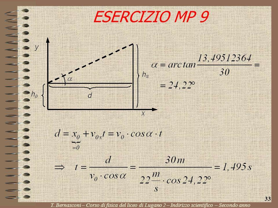 ESERCIZIO MP 9 33. T.