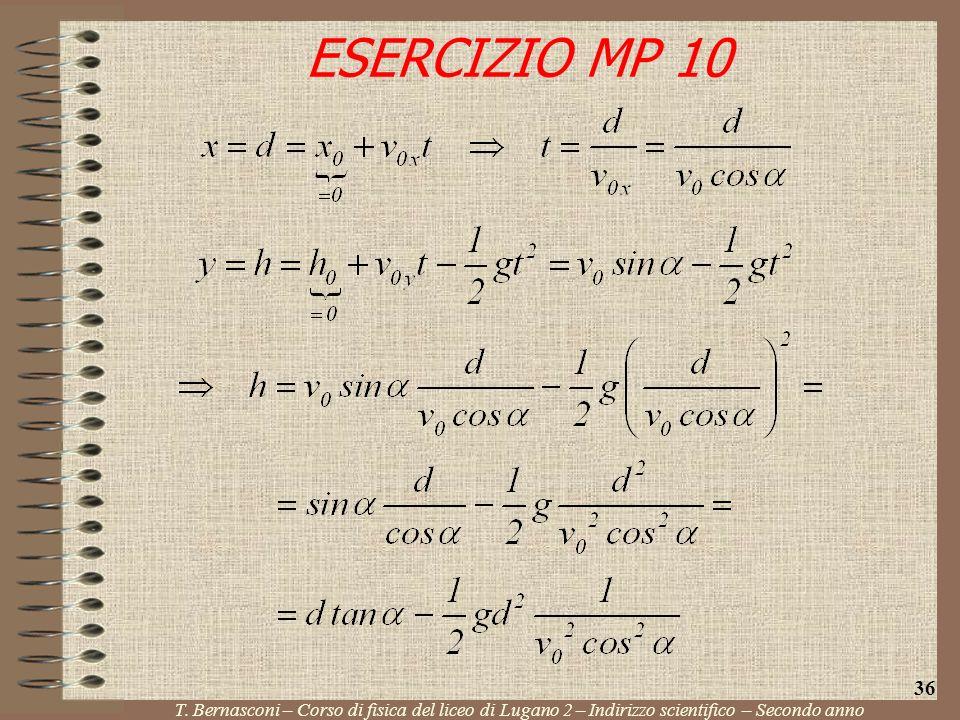 ESERCIZIO MP 10 36. T.