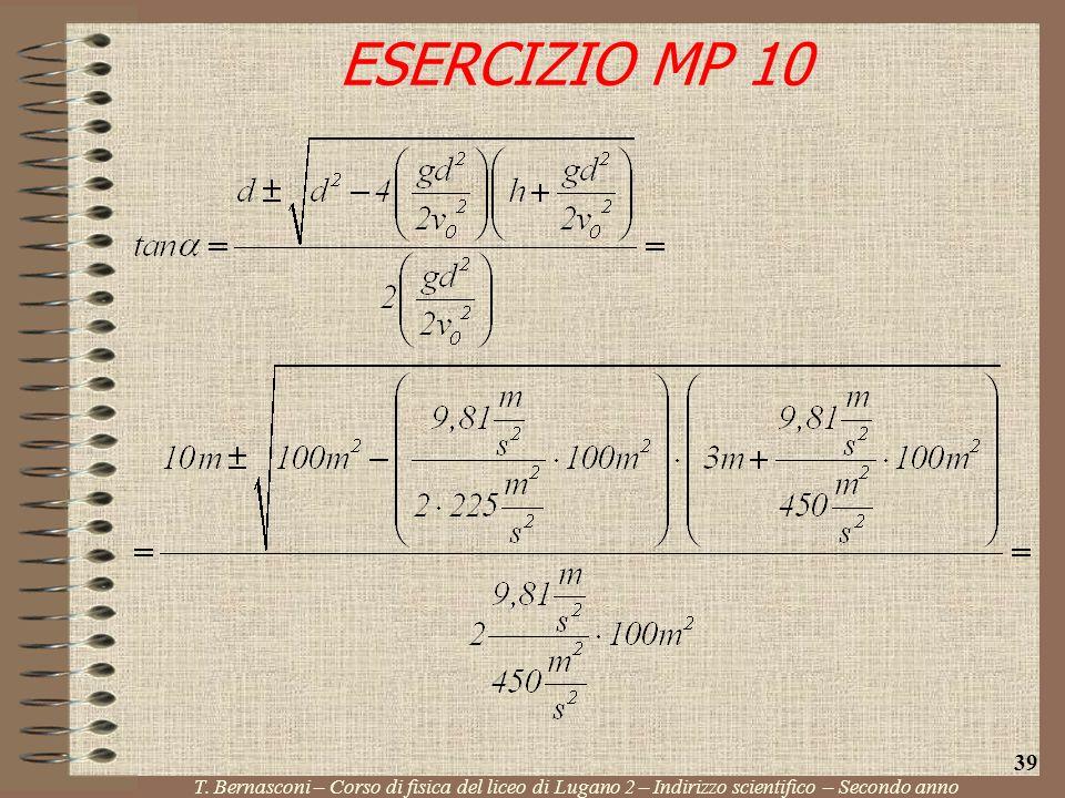 ESERCIZIO MP 10 39. T.