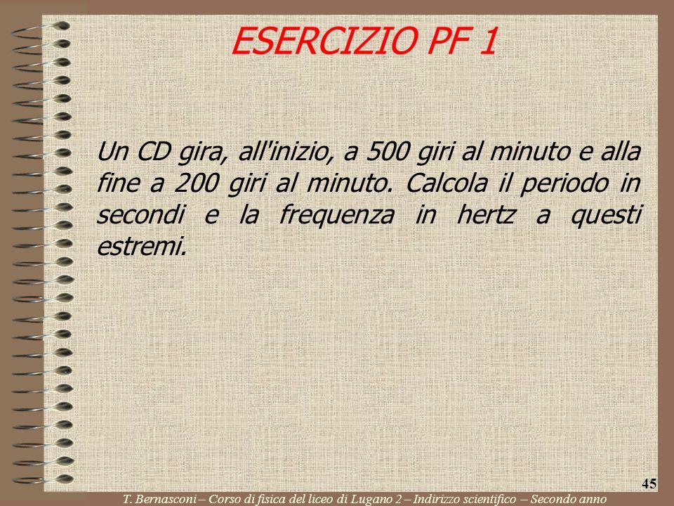 ESERCIZIO PF 1