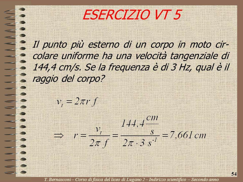 ESERCIZIO VT 5