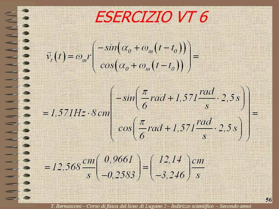ESERCIZIO VT 6 56. T.