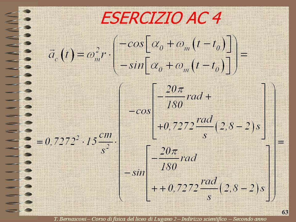 ESERCIZIO AC 4 63. T.