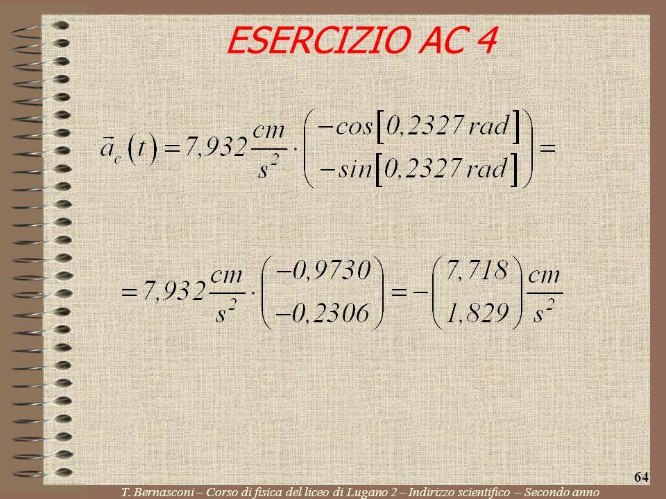 ESERCIZIO AC 4 64. T.