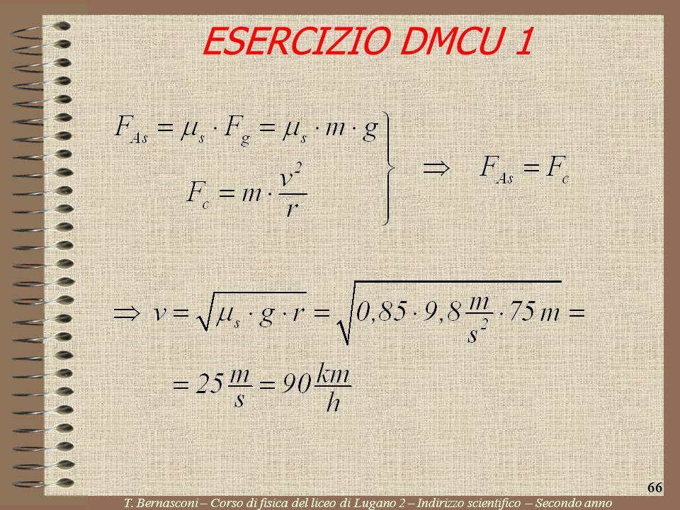 ESERCIZIO DMCU 1 66. T.