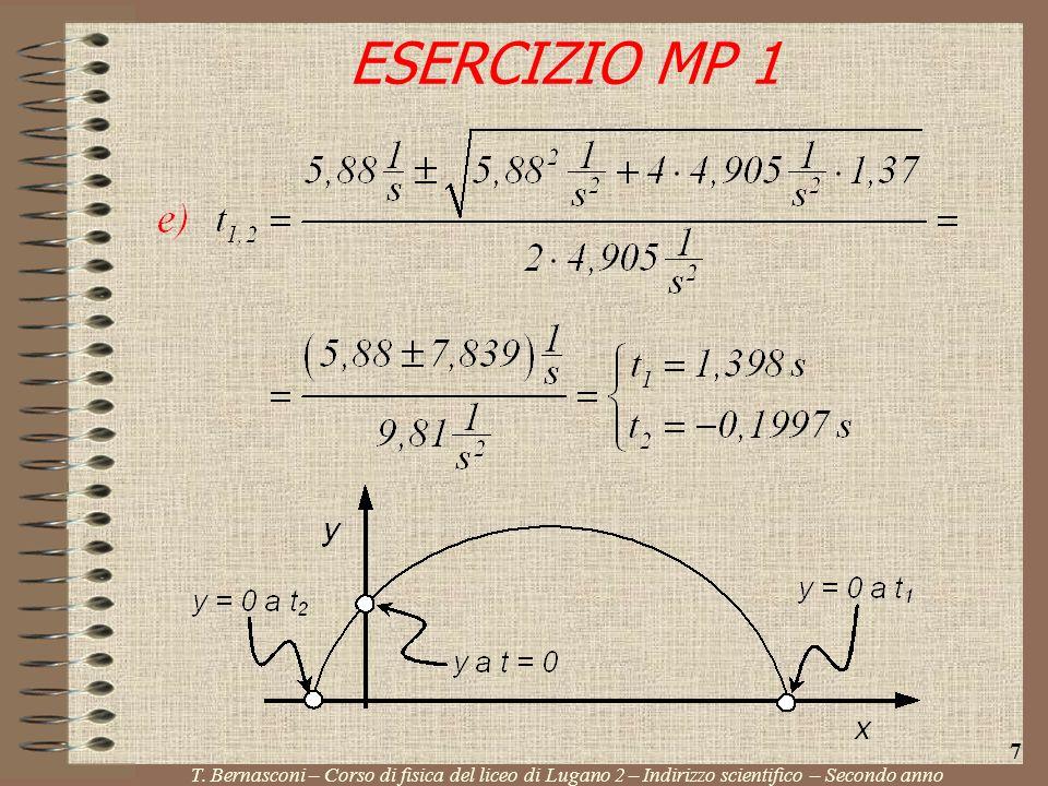 ESERCIZIO MP 1 7. T.