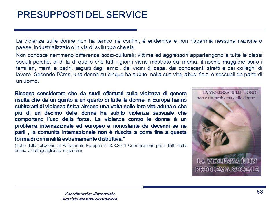 PRESUPPOSTI DEL SERVICE