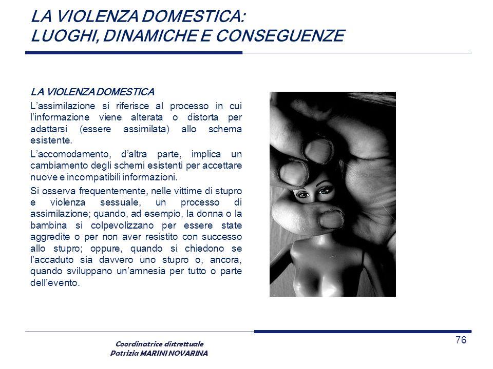 LA VIOLENZA DOMESTICA: LUOGHI, DINAMICHE E CONSEGUENZE
