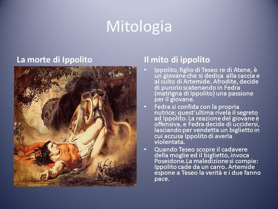 Mitologia La morte di Ippolito Il mito di ippolito