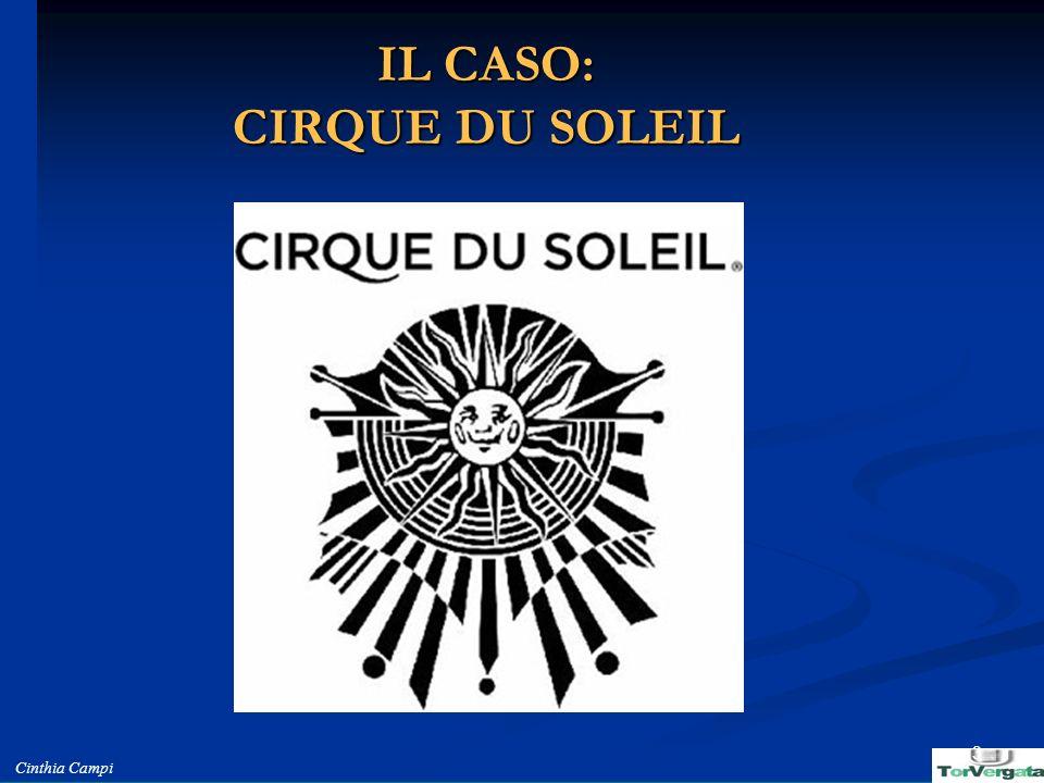 IL CASO: CIRQUE DU SOLEIL