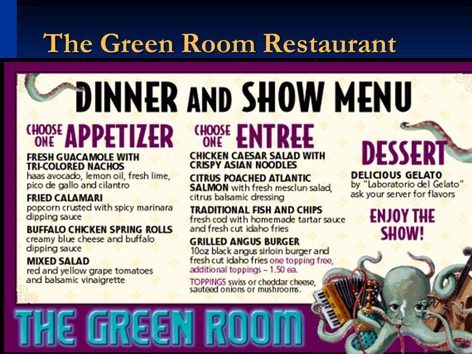 The Green Room Restaurant