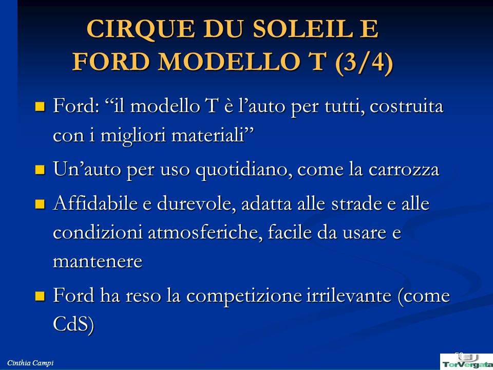 CIRQUE DU SOLEIL E FORD MODELLO T (3/4)