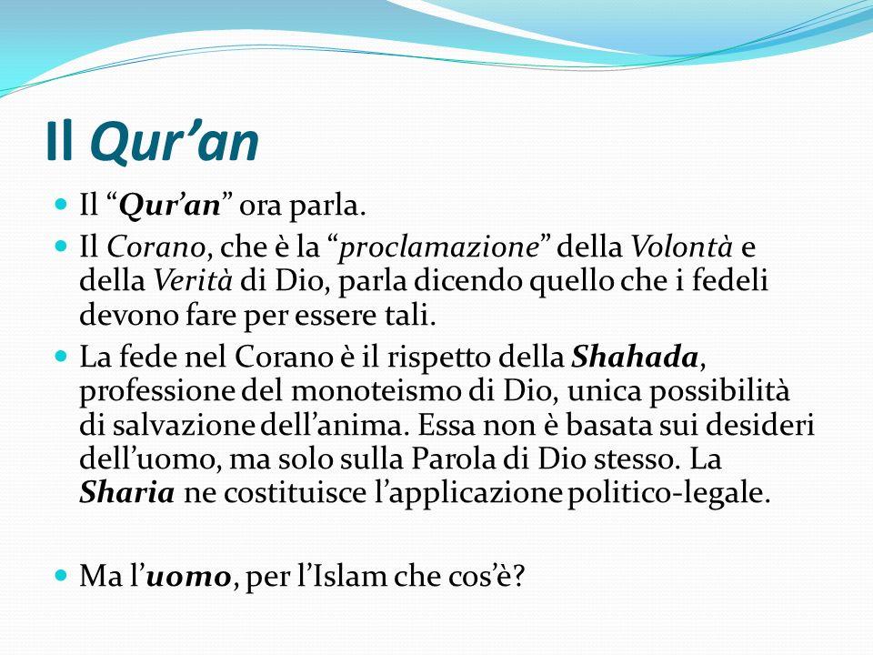 Il Qur'an Il Qur'an ora parla.