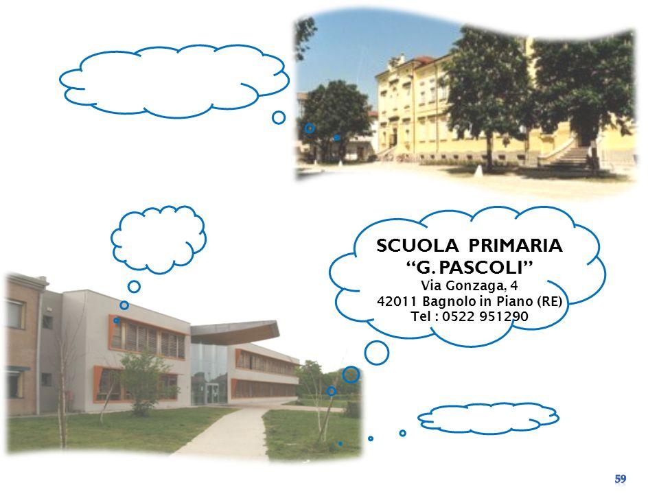 SCUOLA PRIMARIA G. PASCOLI