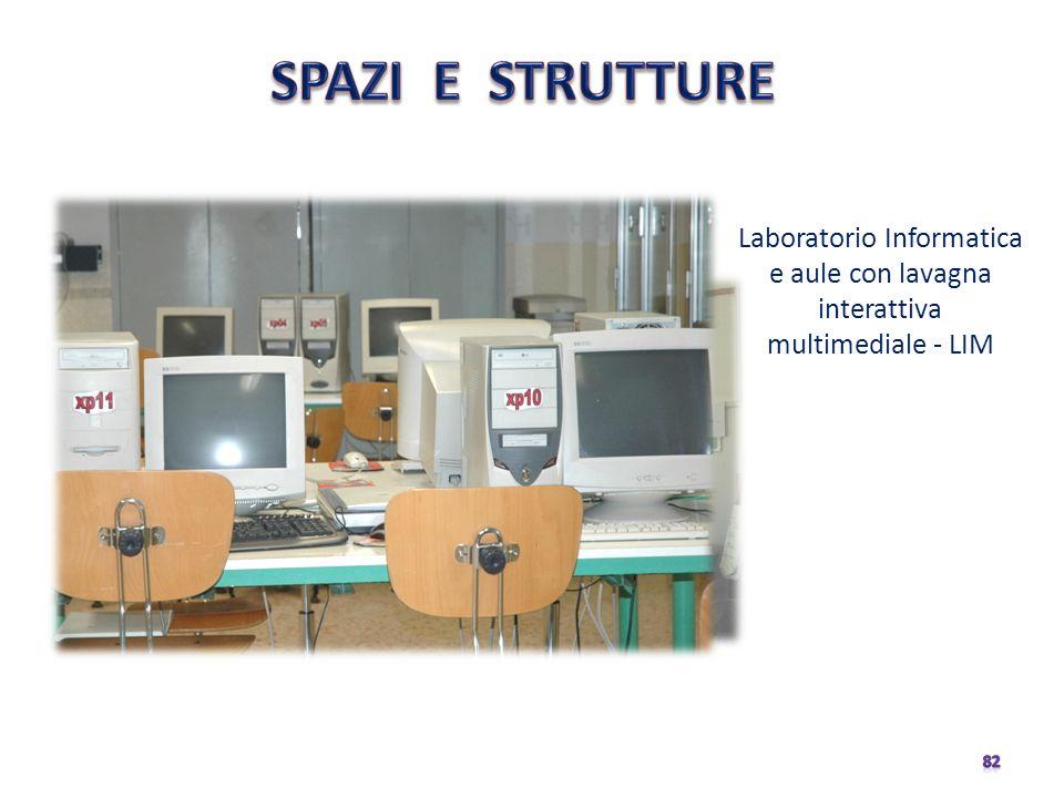 SPAZI E STRUTTURE Laboratorio Informatica e aule con lavagna interattiva multimediale - LIM