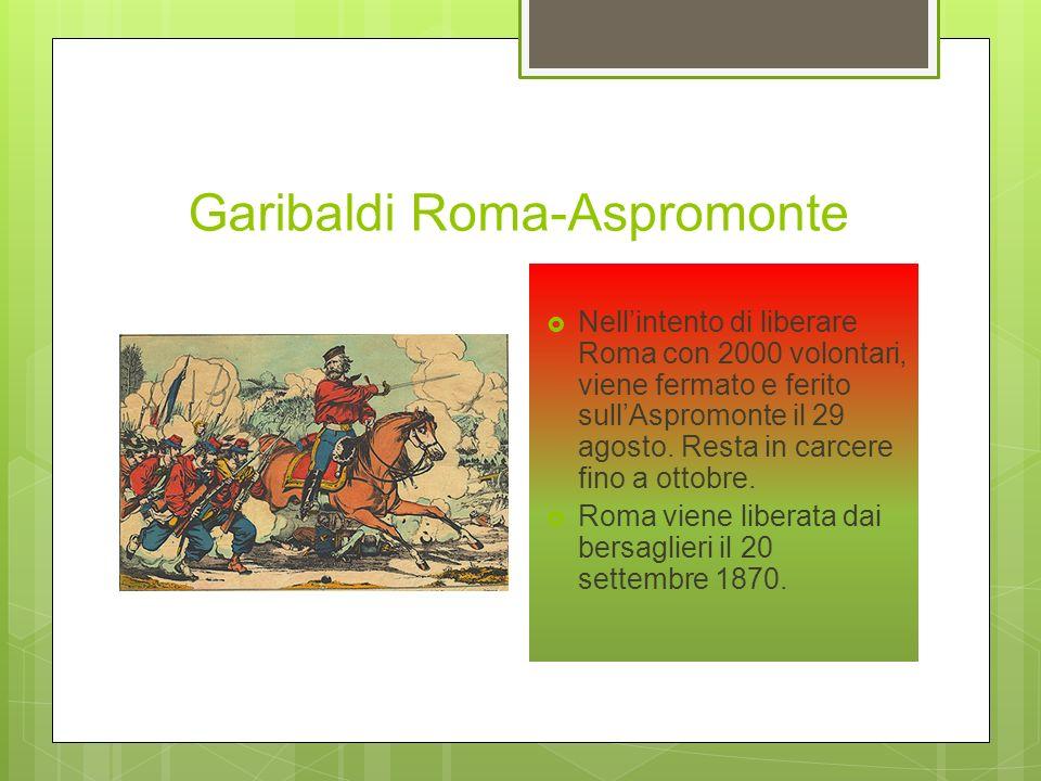 Garibaldi Roma-Aspromonte