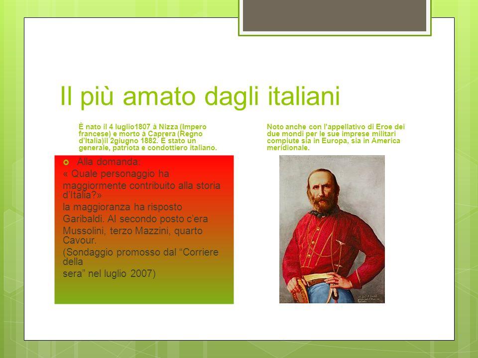 Il più amato dagli italiani