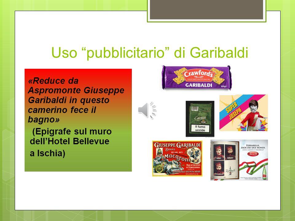 Uso pubblicitario di Garibaldi