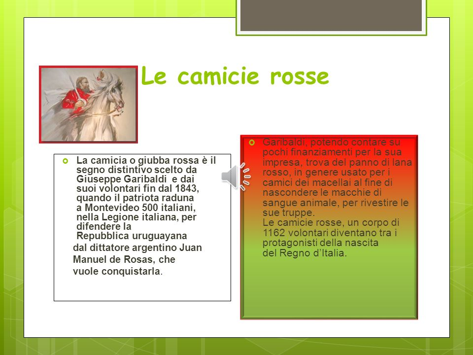 Le camicie rosse