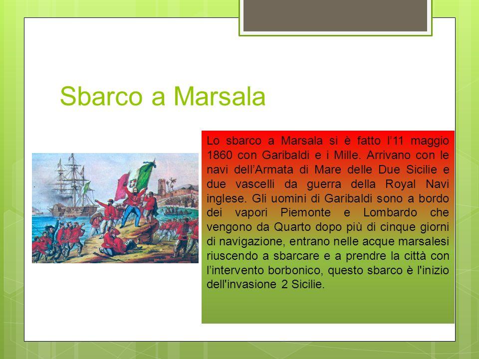 Sbarco a Marsala