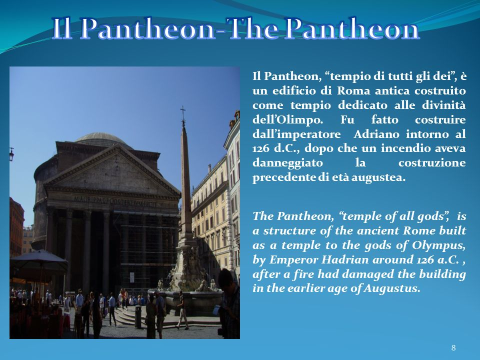 Il Pantheon-The Pantheon