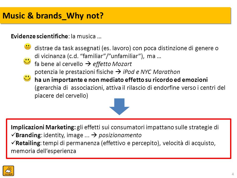Music & brands_Why not Evidenze scientifiche: la musica …
