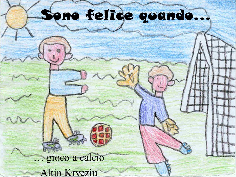 … gioco a calcio Altin Kryeziu